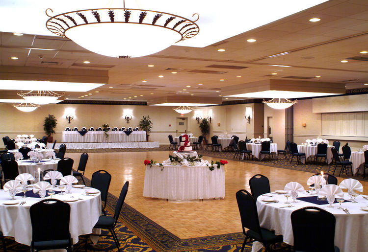 Emerald Ballroom at the Holiday Inn North Haven